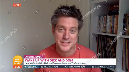 Editorial picture of 'Good Morning Britain' TV show, London, UK - 28 Aug 2020