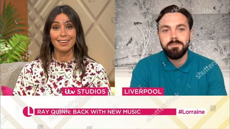 Stock Photo of Christine Lampard and Ray Quinn