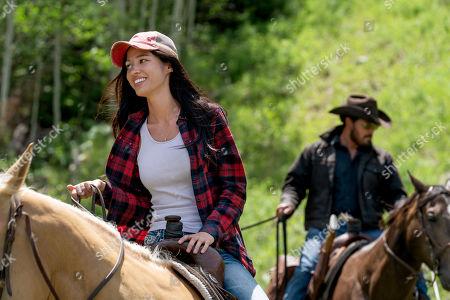 Editorial photo of 'Yellowstone' TV Show, Season 3 - 2020