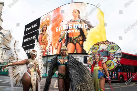 Editorial picture of Samsung X Notting Hill Carnival 2020, London, UK - 28 Aug 2020