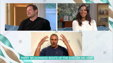 Dermot O'Leary, Rochelle Humes and Paddy McGuinness