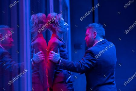 Stock Picture of Elizabeth Debicki as Kat and Kenneth Branagh as Andrei Sator