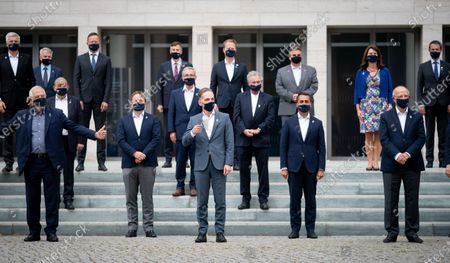Editorial image of Informal meeting of EU Foreign Ministers (Gymnich), Berlin, Germany - 28 Aug 2020