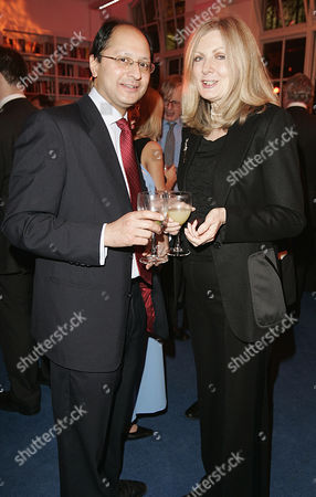 Conservative Party Policy Unit Christmas Drinks Party Shailesh Vara And Nikki Page.