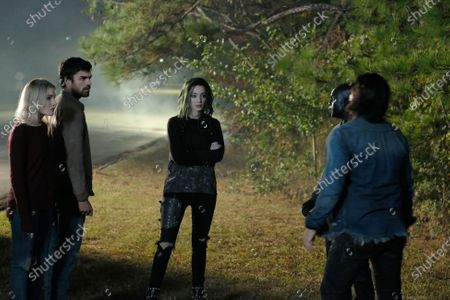 Skyler Samuels as Esme Frost, Sean Teale as Marcos Diaz/Eclipse, Emma Dumont as Lorna Dane/Polaris, Jermaine Rivers as Shatter and Blair Redford as John Proudstar/Thunderbird