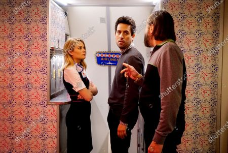 Kim Matula as Ronnie, Ed Weeks as Colin and Peter Stormare as Artem