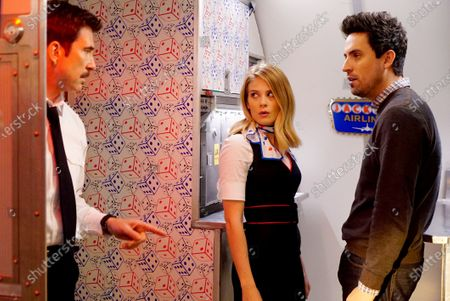Dylan McDermott as Captain Dave, Kim Matula as Ronnie and Ed Weeks as Colin