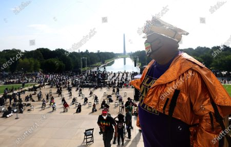 Editorial picture of March On Washington To Protest Police Brutality, USA - 28 Aug 2020