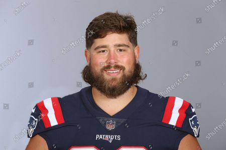This is a 2020 photo of David Andrews of the New England Patriots NFL football team. This image reflects the New England Patriots active roster as of when this image was taken