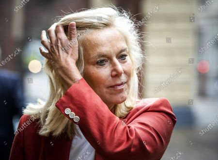 Stock Picture of Sigrid Kaag, Minister of Foreign Trade and Development Cooperation, arrives at the Binnenhof for the weekly Council of Ministers in The Hague, the Netherlands, 28 August 2020.