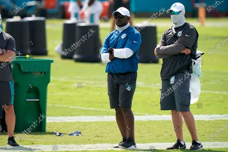 Editorial photo of Dolphins Football, Davie, United States - 28 Aug 2020