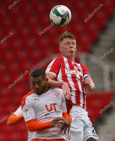 Editorial image of Stoke City v Blackpool, EFL Carabao Cup, Football, Britannia Stadium, Stoke on Trent, UK - 29 Aug 2020