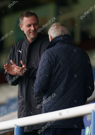 Stock Image of Peterborough United Chairman Darragh MacAnthony