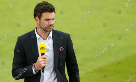Lights, camera, action:  James Anderson part of BBC's live England cricket coverage, the first since 1999