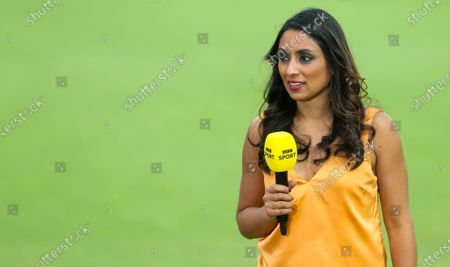 Stock Picture of Isa Guha part of BBC's live England cricket coverage, the first since 1999