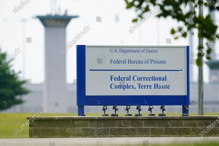 Editorial photo of Federal Executions, Terre Haute, United States - 28 Aug 2020