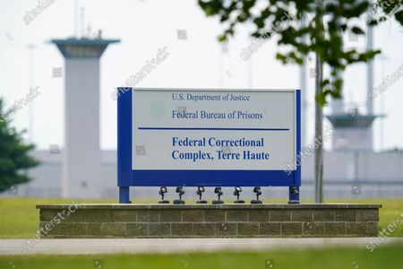 Editorial image of Federal Executions, Terre Haute, United States - 28 Aug 2020