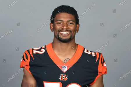 This is a 2020 photo of Marcel Spears Jr. of the Cincinnati Bengals NFL football team. This image reflects the Cincinnati Bengals active roster as of when this image was taken