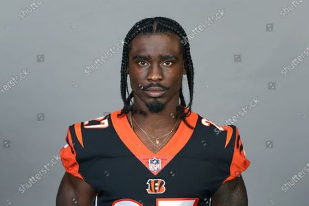This is a 2020 photo of Tony Brown of the Cincinnati Bengals NFL football team. This image reflects the Cincinnati Bengals active roster as of when this image was taken