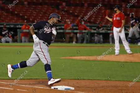 Editorial image of Nationals Red Sox Baseball, Boston, United States - 28 Aug 2020