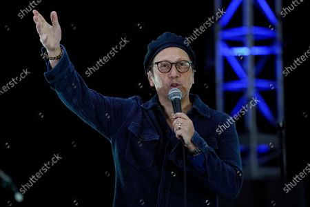 Editorial picture of Comedy In Your Car - David Spade and Rob Schneider, Ventura, United States - 30 Aug 2020