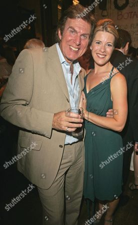 Dave Willetts And Shona Lindsay. After Show Party For The Musical Seven Brides For Seven Brothers.