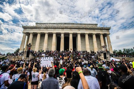 Editorial image of Commitment March, Washington DC, USA - 28 Aug 2020