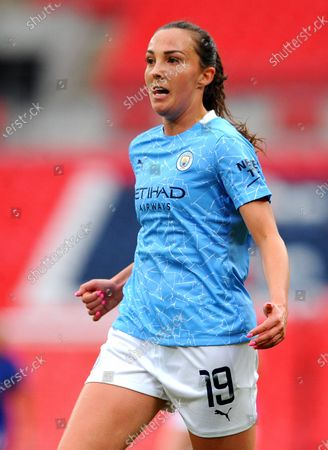 Stock Photo of Caroline Weir of Manchester City Women- Mandatory by-line: Nizaam Jones/JMP