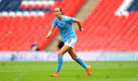 Stock Image of Caroline Weir of Manchester City Women- Mandatory by-line: Nizaam Jones/JMP