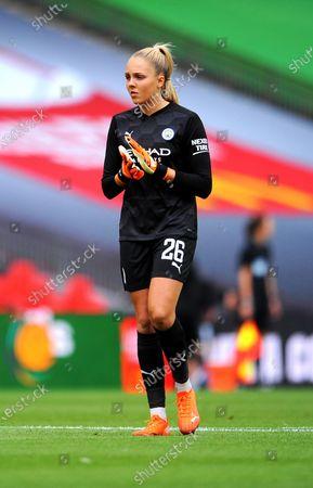 Ellie Roebuck of Manchester City Women- Mandatory by-line: Nizaam Jones/JMP