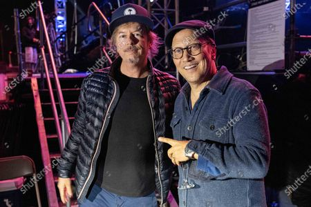 David Spade and Rob Schneider
