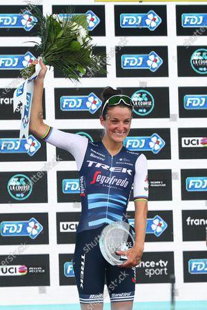 Nice, France -Trek Segafredo's Lizzie Deignan wins La Course by Le Tour de France 2020.
