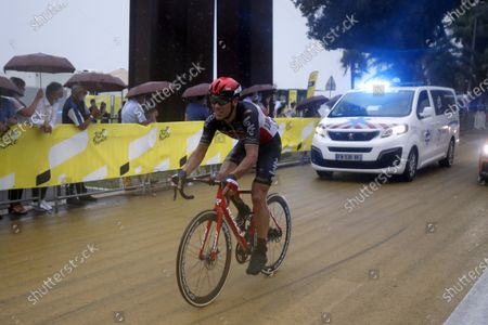 Belgian rider Philippe Gilbert of the Lotto-Soudal team in action during the 1st stage of the 107th edition of the Tour de France cycling race over 156km around Nice, France, 29 August 2020.