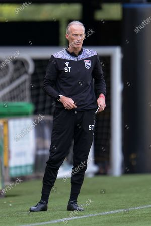 Scott Thomson, goalkeeping coach of Ross County FC during the Scottish Premiership match between Livingston and Ross County at Tony Macaroni Arena, Livingston