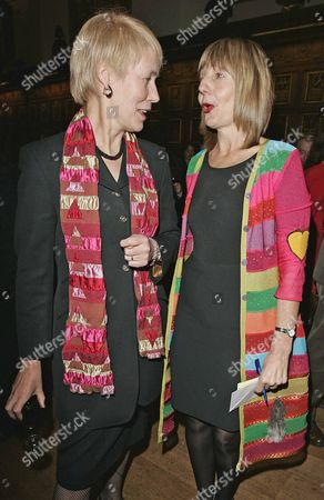 Virginia Bottomley (now Baroness Bottomley Of Nettlestone) (l) And Carole Stone Night Of Parties Network Party