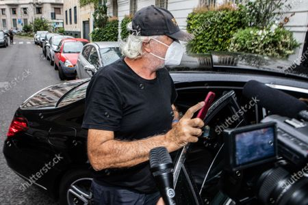 Editorial image of Flavio Briatore positive for Covid-19. Milan, Italy 29 Aug 2020, Milano - 29 Aug 2020