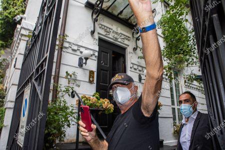 Editorial image of Flavio Briatore positive for Covid-19. Milan, Italy 29 Aug 2020, Milano - 29 Aug 2020