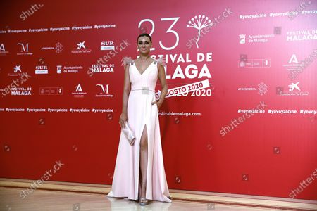 Norma Ruiz attends the closing ceremony of the 23rd edition of Malaga Film Festival in Malaga, Spain, 29 August 2020.
