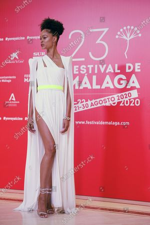 Godeliv Van den Brandt attends the closing ceremony of the 23rd edition of Malaga Film Festival in Malaga, Spain, 29 August 2020.