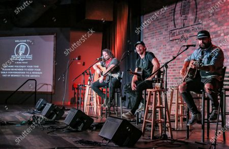 Editorial image of Listening Room Cafe concert, Nashville, Tennessee, USA - 28 Aug 2020