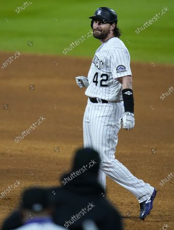 Editorial photo of Padres Rockies Baseball, Denver, United States - 29 Aug 2020