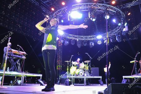 Editorial photo of Concerts In Your Car - Fitz and The Tantrums, Ventura, United States - 29 Aug 2020