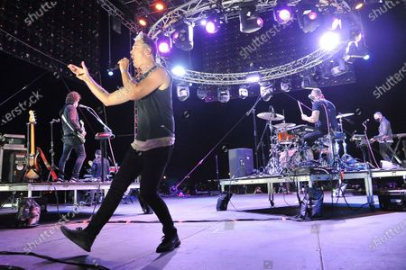 Editorial image of Concerts In Your Car - Fitz and The Tantrums, Ventura, United States - 29 Aug 2020