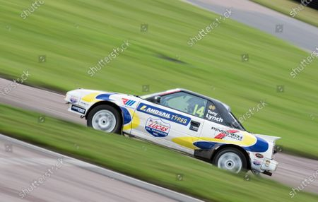 Tony Lynch, Retro championship in free practice during the 5 Nations British Rallycross at Lydden Hill Race Circuit on 30th August 2020