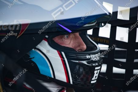 Focused, - Sir Chris Hoy MBE,  during the 5 Nations British Rallycross at Lydden Hill Race Circuit on 30th August 2020