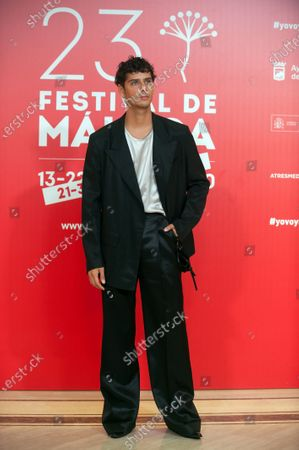 Editorial image of Malaga Film Festival closing ceremony, Miramar Hotel, Spain - 29 Aug 2020