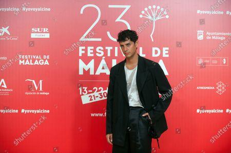 Stock Photo of Spanish actor and director Eduardo Casanova attends the Malaga Film Festival closing ceremony at Miramar Hotel.