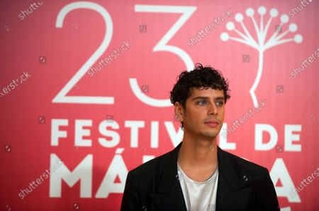 Spanish actor and director Eduardo Casanova attends the Malaga Film Festival closing ceremony at Miramar Hotel.