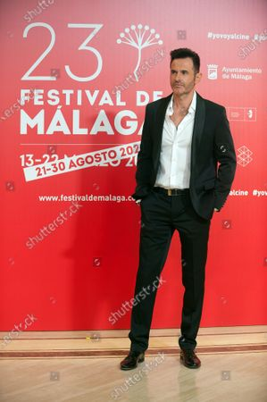 Spanish actor Luis Miguel Segui attends the Malaga Film Festival closing ceremony at Miramar Hotel.
