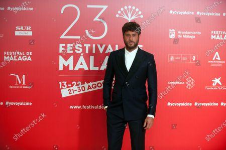 Spanish actor Jose Lamuno attends the Malaga Film Festival closing ceremony at Miramar Hotel.